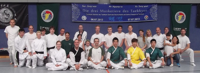 Gruppenfoto Taekkyon Seminar Wolfenbüttel 2013